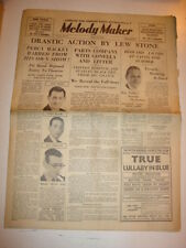 MELODY MAKER 1934 JUNE 23 LEW STONE HOWARD JACOBS NAT GONELLA STANLEY BLACK