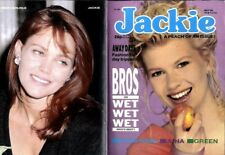 JACKIE MAGAZINE #1282 A-HA COLOUR POSTER, ROSS KING, GREEN, BROS OR WET WET WET