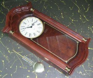 Howard Miller wall clock, quartz w/ dual chimes 620-220 made in USA