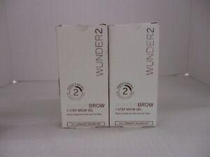 2 WUNDER2 WUNDERBROW 1-STEP BROW GEL - BRUNETTE - HN 3521