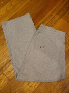 Under Armour Charged Womens large grey run yoga Leggings pants