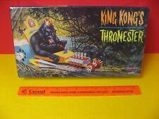1998 POLAR LIGHTS-  AURORA REISSUE -  KING KONG'S THRONESTER - BLOWN HOT ROD
