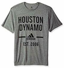 Adidas Men's Houston Dynamo Simply Put Tri Blend Soccer Jersey Shirt 2XL XXL