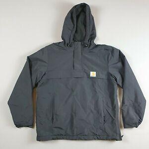 Carhartt black winter lined pullover jacket nimbus Men's Small S