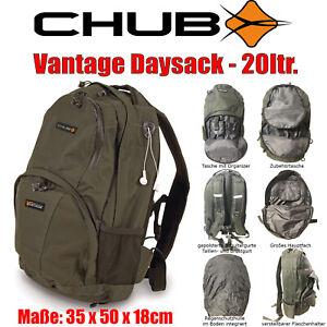 Chub Vantage Daysack - 20Liter Rucksack - Schul-Tasche Angel-Rucksack bequem