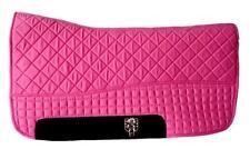 Magenta Hot Pink Western Saddle Pad | PRI Double-Back Saddle Blankets