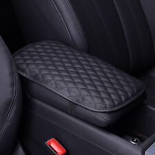 Universal Car Auto Armrest Pad Center Console Box Cushion Soft Accessories Black Fits 2010 Cadillac Cts