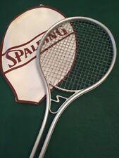 Vintage Spalding Smasher III Alu Tennis Racquet, 1973, USA Made, 4 1/2, Cover