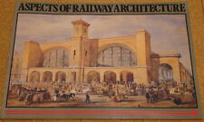 ASPECTS OF RAILWAY ARCHITECTURE - 1985 UK exhibition softback book - Trains