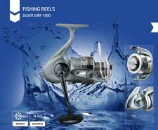 SILVER SURF 7000 Spining Fishing Reel BR Bite N Run Freespool / Fishing Gear