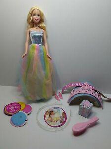 Happy Birthday Barbie w/Tiara for You - Rainbow Dress Mattel
