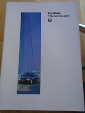 BMW 3 Series Coupe range brochure 1995 Ed 2