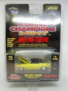 Racing Champions Mint Motor Trend 1969 Chevy Camaro 1 of 19,998  Good Card
