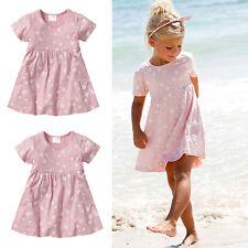 US Playa Niña Vestido Casual Niñas Bebés Princess Rosa Tul De Fiesta Tutu Falda