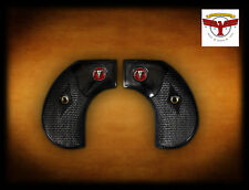 RUGER BIRDSHEAD BLACK DIAMOND ™ GRIPS CLASSIC CHECK BIRDS HEAD Red Steer Skull ^
