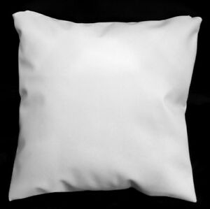 Pa803a Cream White PVC Water Proof Outdoor Cushion Cover/Pillow Case*Custom Size