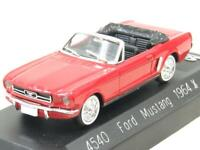 Solido Diecast 4540 Ford Mustang 1964 1/2 Red 1 43 Scale Boxed
