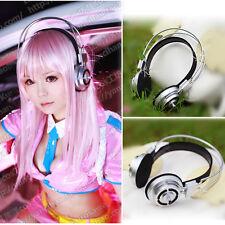 Sonicomi Cosplay Super Sonico Headphone Prop Anime Halloween Party Accessory