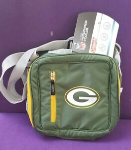 Green Bay Packers  NFL Soft 12 Can Insulated Cooler and Lunch Box Bag New