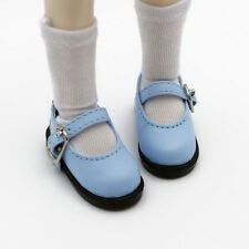 Blue Flats Shoes  For Girl 1/6 11inch tall BJD Doll AOD AS YOSD DOD DZ  Doll