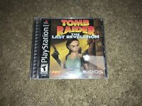 Tomb Raider: The Last Revelation Sony PlayStation 1 PS1 Complete