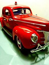 NEW! AMERICAN GRAFFITI SPECIAL COLLECTION 1940 FORD SEDAN COUP FIRE CHIEF CAR