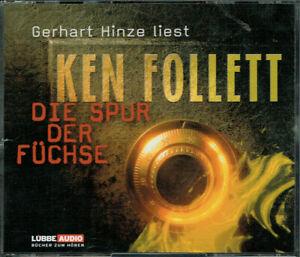Ken Follet - Die Spur der Füchse - gelesen von Gerhart Hinze 4CDs