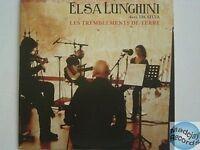 ELSA LES TREMBLEMENTS DE TERRE CD PROMO