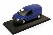 1:43 VW Caddy III Typ 2K Kasten blau blue - Volkswagen Dealer-Edition