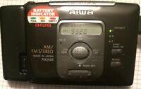 Splendid Top Model Aiwa RX848 Walkman Worldwide Radio Cassette Player & Remote