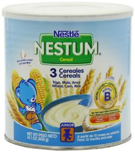 Nestle Nestum 3 Cereals, 14.1-Ounce Pack of 6
