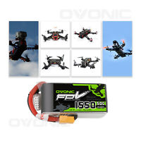 50C 14.8V 1550mAh 4S Lipo Battery XT60 Plug For Vortex FPV Quadcopter RC Drone