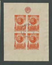 Russia #1083a Used VFcentered Souvenir Sheet>29th Anniversary October Revolution