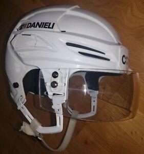 Game worn Helmet KHL RUSSIA Canada hockey Severstal 2020 - 2021 Warrior match