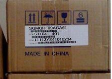 Yaskawa AC Servo Motor SGMGH-09ACA61 used and good