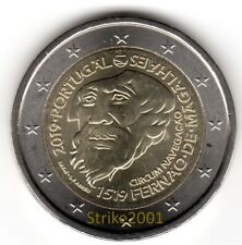 NEW !!! 2 EURO COMMEMORATIVO PORTOGALLO 2019 500° Ferdinando Magellano NEW !!!