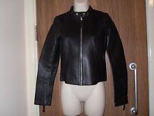 Zara Basic 100% Vrai Veste en cuir taille M