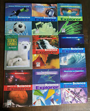 Science Explorer Student Edition Lot of 9 Homeschooling Resources Learning
