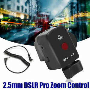 DSLR Pro Zoom Control For Sony LANC A1C 150P Panasonic 180A 130AC DV ACC REMOTE