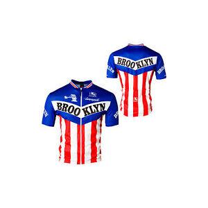 Giordana Men's Brooklyn cycling Jersey Red White & Blue Italia New