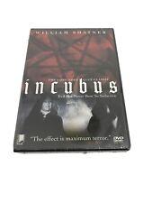New Sealed Incubus (DVD, 2001) RARE WILLIAM SHATNER 1966 HORROR