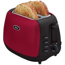 Oster 6595 Inspire 2-Slice Toaster Red/Black Red/Black