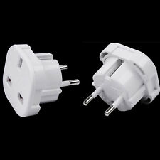 Excellent Universal UK to EU Europe Power Adapter Converter Wall Plug Sockey1