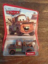 DISNEY Pixar Cars Diecast Desert Card MATER 12 Cars on back Card FILMORE 2005