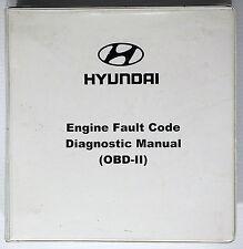 2000 Hyundai Engine Diagnostic OBD-II Shop Manual Accent Elantra Sonata Tiburon