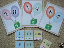 Teaching Resources-Number Bonds to 10 Display-Balloons
