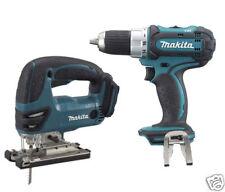 Makita DJV180 DDF456 Cordless LXT L-Ion Jigsaw & Drill