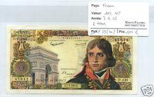 FRANCE 100 NOUVEAUX FRANCS BONAPARTE 7.3.1963 ALPHABET P.230