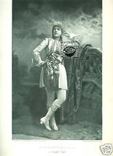 MARIE WAINWRIGHT publicity photo 1889 Viola