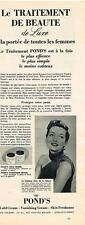 PUBLICITE ADVERTISING  1951   POND'S   cold cream vanishing creme skin freshener